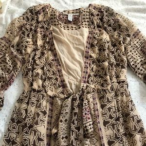 Diane Von Furstenberg Bohemian Silk Dress
